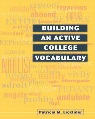 Building an Active College Vocabulary (Paperback)