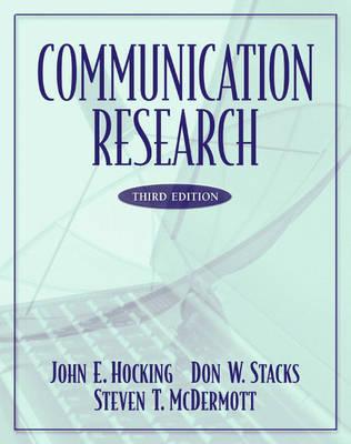 Communication Research (Hardback)