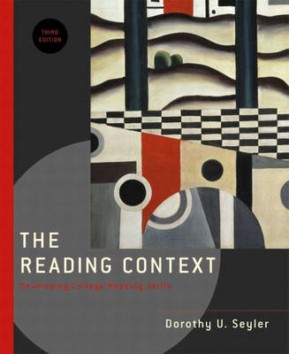 The Reading Context: Developing College Reading Skills (Paperback)