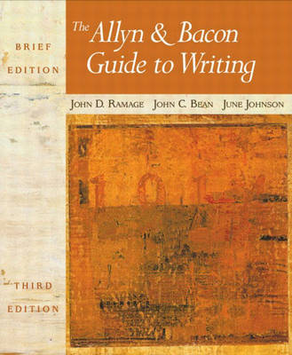 The Allyn and Bacon Guide to Writing: Brief Edition (Paperback)