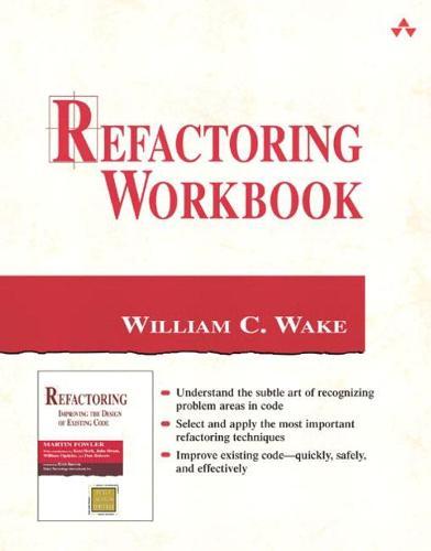 Refactoring Workbook (Paperback)