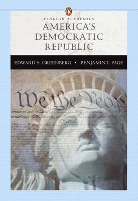 America's Democratic Republic (Penguin Academic Series) (Paperback)