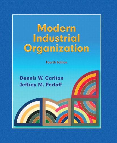 Modern Industrial Organization (Hardback)