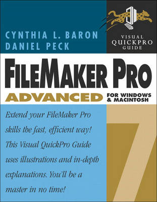 Advanced Database for Windows and Macintosh - Visual QuickPro Guide (Paperback)