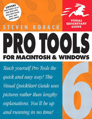 Pro Tools 6 for Macintosh and Windows (Paperback)