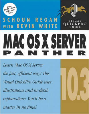 Mac OS X Server 10.3 Panther: Visual Quickpro Guide (Paperback)
