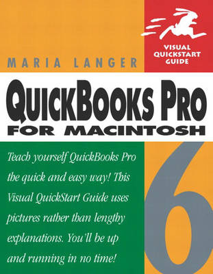 QuickBooks Pro 6 for Macintosh: Visual QuickStart Guide (Paperback)