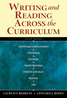 Writing and Reading Across the Curriculum (with MyCompLab) (Paperback)