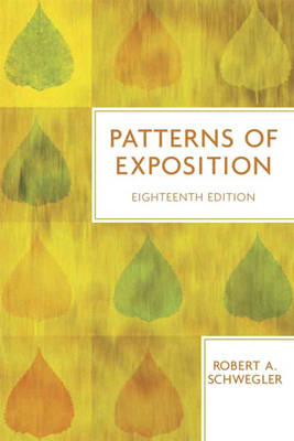 Patterns of Exposition (Paperback)