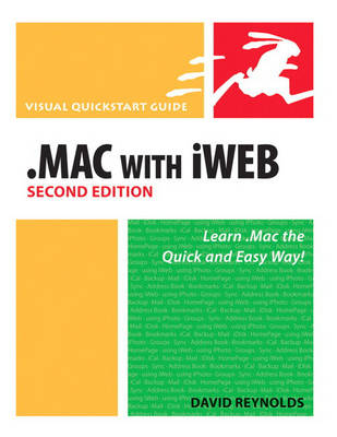 MAC with iWeb: Visual Quickstart Guide (Paperback)