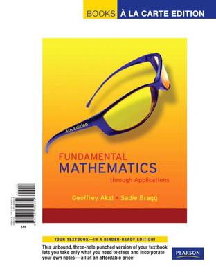 Fundamental Mathematics through Applications (Paperback)