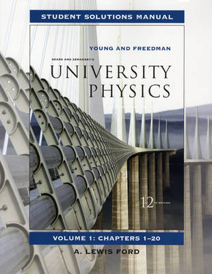 Student Solutions Manual for University Physics Vol 1 (Paperback)