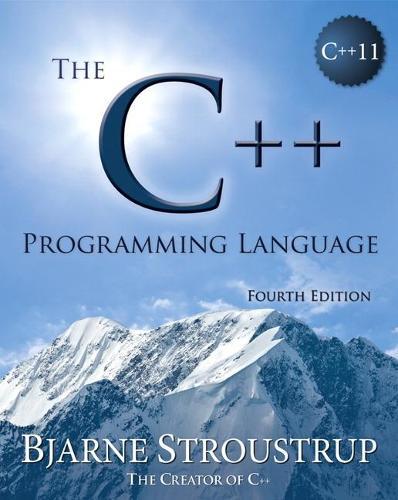 The C++ Programming Language (Paperback)