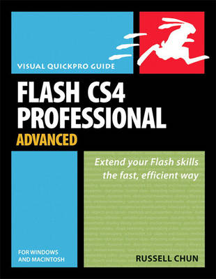 Flash CS4 Professional Advanced for Windows and Macintosh: Visual QuickPro Guide (Paperback)