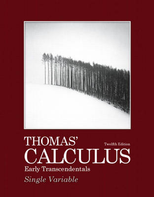 Thomas' Calculus Early Transcendentals, Single Variable (Paperback)