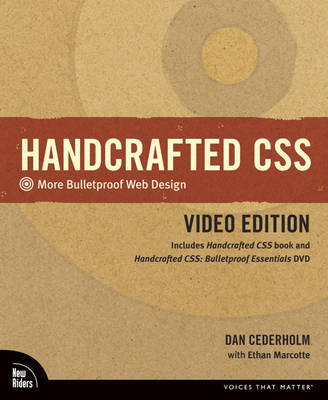 Handcrafted CSS: More Bulletproof Web Design, Video Edition (includes Handcrafted CSS book and Handcrafted CSS: Bulletproof Ess