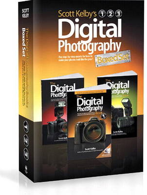 Scott Kelby's Digital Photography Boxed Set, Volumes 1, 2, and 3 (Paperback)