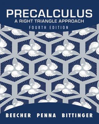 Precalculus: A Right Triangle Approach (Hardback)