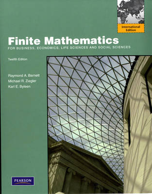 Finite Mathematics for Business, Economics, Life Sciences and Social Sciences (Paperback)