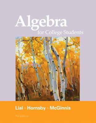Algebra for College Students (Hardback)