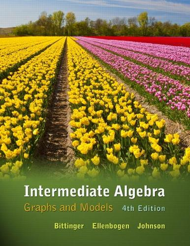 Intermediate Algebra: Graphs and Models (Hardback)