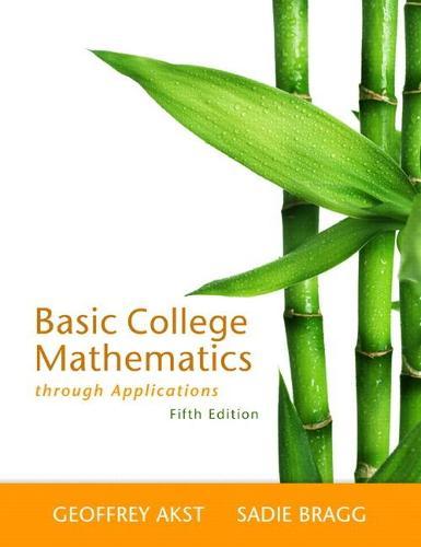 Basic College Mathematics through Applications (Paperback)