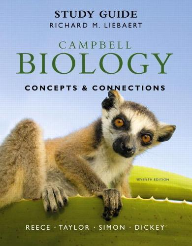 Study Guide for Campbell Biology: Concepts & Connections (Paperback)