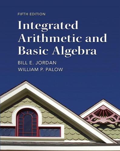 Integrated Arithmetic and Basic Algebra (Paperback)