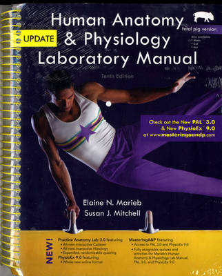 Cover Human Anatomy & Physiology Laboratory Manual: Fetal Pig Version, Update