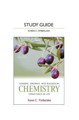 Study Guide for General, Organic, and Biological Chemistry: Structures of Life (Paperback)
