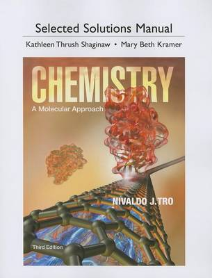 Student Solutions Manual for Chemistry: A Molecular Approach (Paperback)