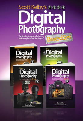Scott Kelby's Digital Photography Boxed Set, Parts 1, 2, 3, and 4 (Paperback)