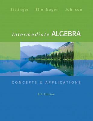 Intermediate Algebra: Concepts & Applications (Hardback)