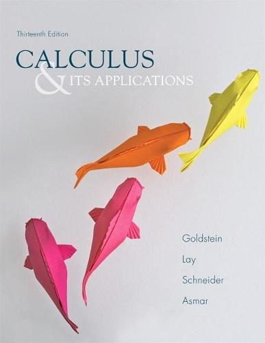 Calculus & Its Applications (Hardback)