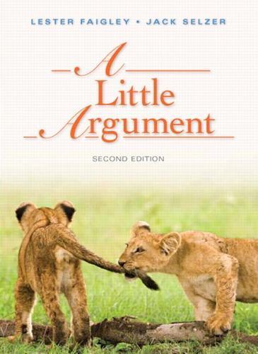 A Little Argument (Paperback)