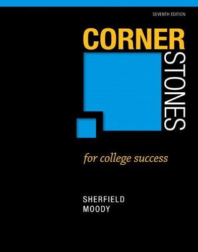 Cornerstones for College Success (Paperback)