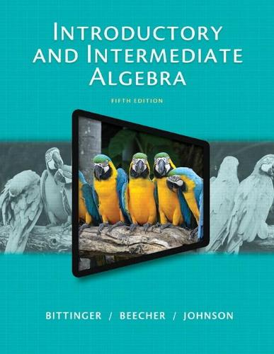 Introductory and Intermediate Algebra (Paperback)