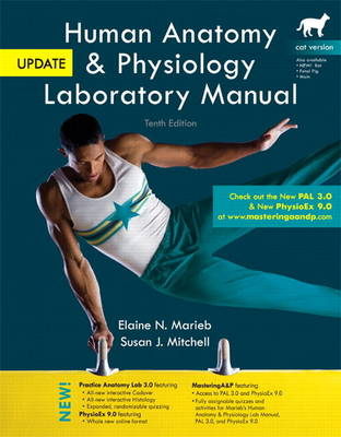 Human Anatomy & Physiology Laboratory Manual, Cat Version, Update Plus MasteringA&P with Etext -- Access Card Package (Paperback)