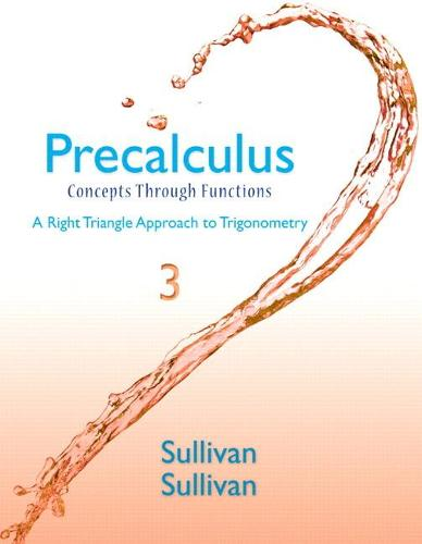 Precalculus: Concepts Through Functions, A Right Triangle Approach to Trigonometry Plus NEW MyMathLab with eText -- Access (Hardback)