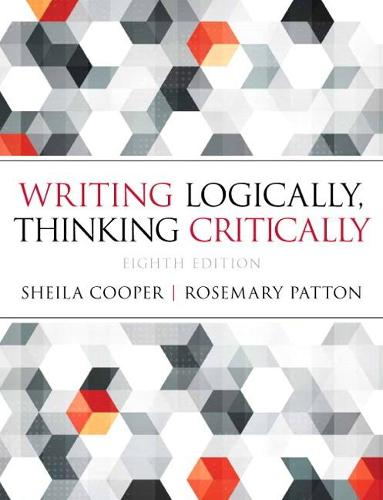 Writing Logically Thinking Critically (Paperback)