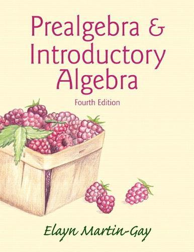 Prealgebra & Introductory Algebra (Paperback)