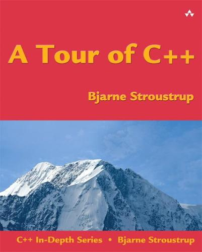A Tour of C++ (Paperback)