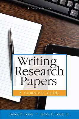 Writing Research Papers: A Complete Guide Plus MyWritingLab with Pearson eText -- Access Card Package