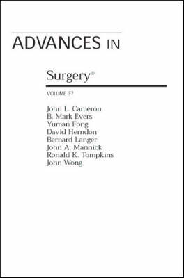 Advances in Surgery - Vol 37 (Paperback)