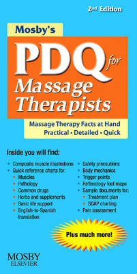 Mosby's PDQ for Massage Therapists (Spiral bound)