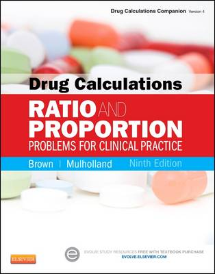 Drug Calculations: Ratio and Proportion Problems for Clinical Practice (Paperback)