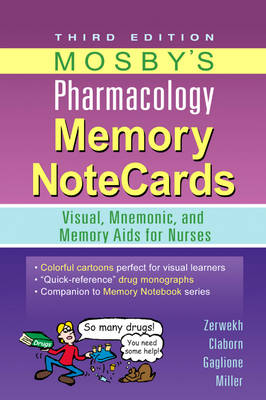 Mosby's Pharmacology Memory NoteCards: Visual, Mnemonic, and Memory Aids for Nurses (Spiral bound)