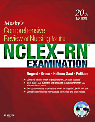Mosby's Comprehensive Review of Nursing for the NCLEX-RN (R) Examination (Paperback)