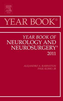 Year Book of Neurology and Neurosurgery - Year Books 2011 (Hardback)