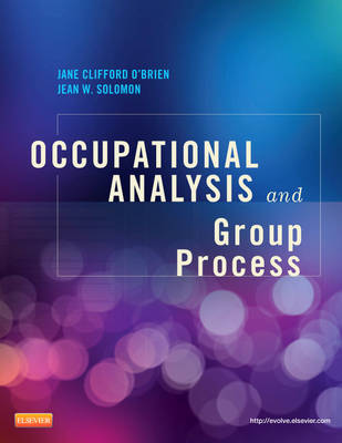 Occupational Analysis and Group Process (Paperback)